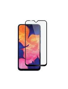 Ntech Ntech Samsung Galaxy M10 full cover Screenprotector Tempered Glass - Zwart