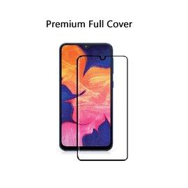 Ntech Ntech Samsung Galaxy A10 Premium Glass full cover Screen Protector-9H HD clarity Hardness Tempered Glass - Zwart