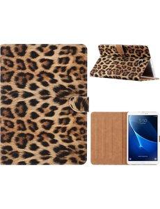 Ntech Ntech Samsung Galaxy Tab A 10.1 (2019) Luipaard Design Booktype Hoes