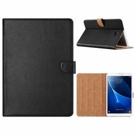 Ntech Ntech Samsung Galaxy Tab A 10.1 (2019) SM T510 / T515 Booktype Kunstleer Hoesje - Zwart