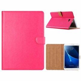Ntech Ntech Samsung Galaxy Tab A 10.1 (2019) SM T510 / T515 Booktype Kunstleer Hoesje - Roze