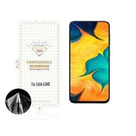 Ntech Ntech Samsung Galaxy A30 Diamond Film Folie Screen protector Full-screen | Transparant/Clear