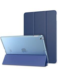 Ntech Ntech Apple iPad 9.7 (2017-2018) Smart Hoesje Transparant & Blauw