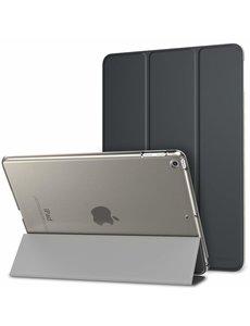 Ntech Ntech Apple iPad Air (2019) Ultra Slim Smart hoesje met Trifold Cover Stand Transparant & Zwart