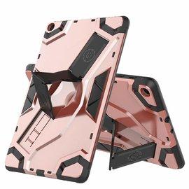 Ntech Ntech Escort Armor hoesje met standaard & 2 lagen Hybrid shockproof Case Samsung Galaxy Tab A 10.1 (2019) - Rose Goud