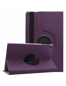 Ntech Ntech Samsung Galaxy Tab A 10.1 (2019) draaibare Hoes - Paars
