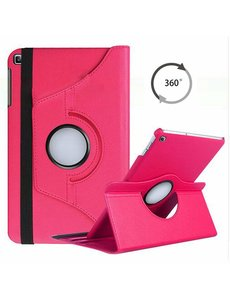 Ntech Samsung Galaxy Tab A 10.1 (2019) Hoes met 360° draaistand - Roze/Pink