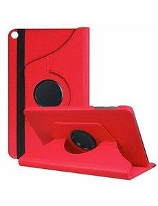 Ntech Samsung Galaxy Tab A 10.1 (2019) Hoes met 360° draaistand - Rood