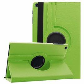 Ntech Ntech Samsung Galaxy Tab A 10.1 (2019 ) Boek Hoesje met 360° draaistand SM T510 / T515 - Groen
