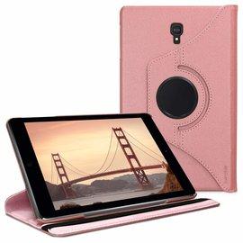 Ntech Ntech Samsung Galaxy Tab A 8.0 (2017) T380  draaibaar Hoes - Rose Goud