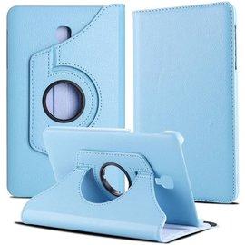 Ntech Ntech Samsung Galaxy Tab A 8.0 inch T380-T385 hoesje Book Cover 360° draaibaar Multi stand - Licht Blauw