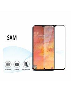 Ntech Ntech Samsung Galaxy A20e full Screenprotector Tempered Glass - Zwart