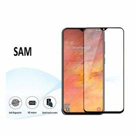 Ntech Ntech Samsung Galaxy A20e full cover Screen Protector-9H HD clarity Hardness Tempered Glass - Zwart