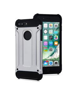 Ntech Ntech - Apple iPhone 8 Plus / 7 Plus - Armor Hoesje - Zilver