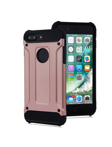 Ntech Ntech - Apple iPhone 8 Plus / 7 Plus - Armor Hoesje - Rose Goud