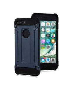 Ntech Ntech - Apple iPhone 8 Plus / 7 Plus - Armor Hoesje - Blauw