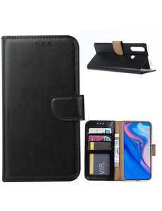 Ntech Ntech Huawei P Smart Z Portemonnee Hoesje / Book Case - Zwart