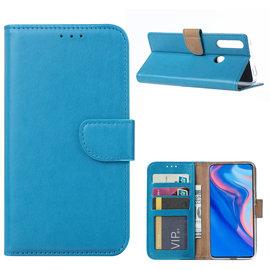 Ntech Ntech Huawei P Smart Z Portemonnee Hoesje / Book Case - Turquoise