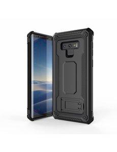 Ntech Ntech Samsung Galaxy Note 9 Armor hoesje met Kickstand - Zwart