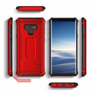 Ntech Ntech Samsung Galaxy Note 9 Armor Hoesje met Sta-Functie - Rose Goud