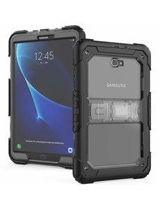 Ntech Ntech Samsung Galaxy Tab A 10.1 (2016) Armor Case met Draagriem Zwart