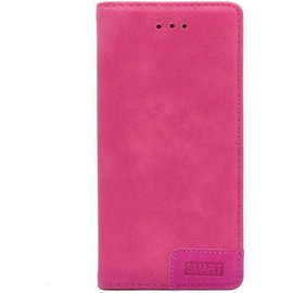 Merkloos Smart Luxe Roze TPU / PU Leder Flip Cover met Magneetsluiting voor Samsung Galaxy S10+