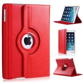 Ntech Ntech Apple iPad Air 10.5 (2019) Draaibaar Hoesje 360 Rotating Multi stand Case - Rood