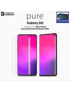 Araree Samsung Galaxy S10 Araree Pure 3D Pre-Curved Screenprotector Folie/PET