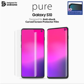 Araree Samsung Galaxy S10 Araree Pure 3D Pre-Curved Screen Protector Folie/PET