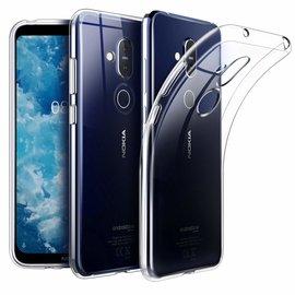 Ntech Ntech Nokia 8.1 (Nokia X7) Transparant Hoesje / Crystal Clear TPU Case