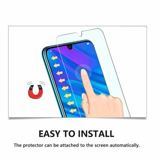 Ntech Ntech 2 Pack Honor 20 lite Screenprotector-9H HD clarity Hardness Tempered Glass