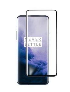 Ntech Ntech OnePlus 7 Pro full cover Screenprotector Tempered Glass - Zwart