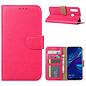Ntech Ntech Honor 20 lite Portemonnee Hoesje / Book Case - Pink/Roze