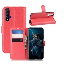 Ntech Ntech Honor 20 Portemonnee Hoesje / Book Case - Pink/Roze