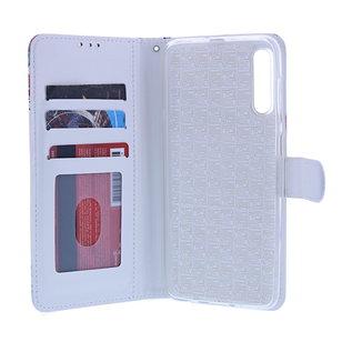 Ntech Ntech Vlinder Fashion Portemonnee | Boek Hoesje | Pasjesruimte - Samsung Galaxy A10