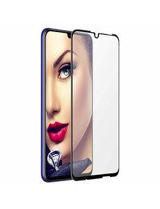 Ntech Ntech Huawei P Smart Plus (2019) full cover Tempered Glass - Zwart