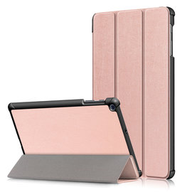 Ntech Ntech Samsung Galaxy Tab A 10.1 (2019) T510 Smart Case  - Rose Goud