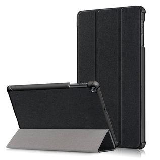 Ntech Ntech Samsung Galaxy Tab A 10.1 (2019) T510  Smart hoes Tri-Fold Cover Zwart