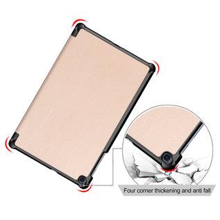 Ntech Ntech Samsung Galaxy Tab A 10.1 (2019) T510  Smart hoes Tri-Fold Cover Gold