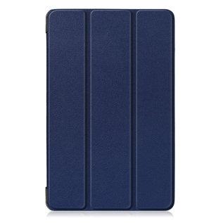 Ntech Ntech Samsung Galaxy Tab A 10.1 (2019) T510  Smart hoes Tri-Fold Cover Donker Blauw
