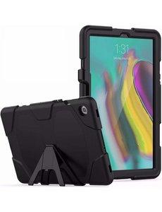Ntech Ntech Armor Hoesje met Standaard Samsung Galaxy Tab S5e T720 - Zwart