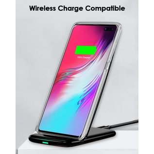 Ntech Ntech Samsung Galaxy S10 5G Flexibel Hard Case Crystal Clear TPU Hoesje - Transparent