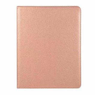 Ntech Ntech Samsung Galaxy Tab A 10.1 (2019 ) Tablet Hoesje met 360° draaistand SM T510 / T515 - Rose Goud