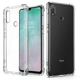 Ntech Ntech Xiaomi Redmi Note 7 Transparant Anti Burst Hoesje / Shock Proof Crystal Clear TPU Case