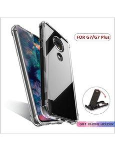 Ntech Ntech Motorola Moto G7 / G7 Plus Transparant Anti Shock Back hoesje