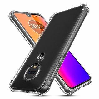 Ntech Ntech Motorola Moto G7 / G7 Plus Transparant Anti Burst Hoesje / Soft Shock Proof Crystal Clear TPU Case