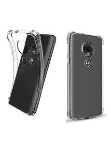 Ntech Ntech Motorola Moto G7 Play Transparant Anti Shock Back hoesje