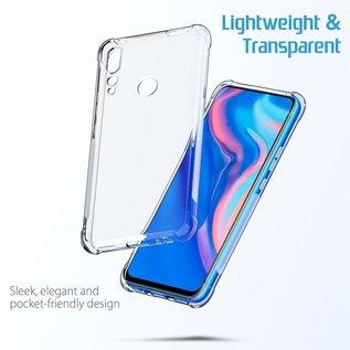 Ntech Ntech Huawei P Smart Z Transparant Anti Burst Hoesje / Soft Shock Proof Crystal Clear TPU Case