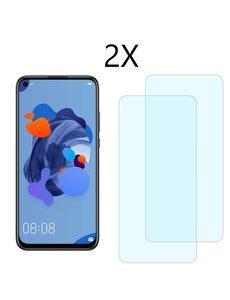Ntech Ntech 2 Pack Huawei P20 lite (2019) Screenprotector Tempered Glass