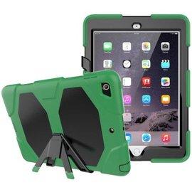 Ntech Ntech Apple iPad mini 4 Extreme Armor hoesje met standaard & 3 lagen shockproof Case - Groen